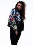 Изображение Куртка женская короткая черная EYE INSHA
