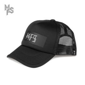 Изображение Кепка с принтом черная с белым MFS BRAND