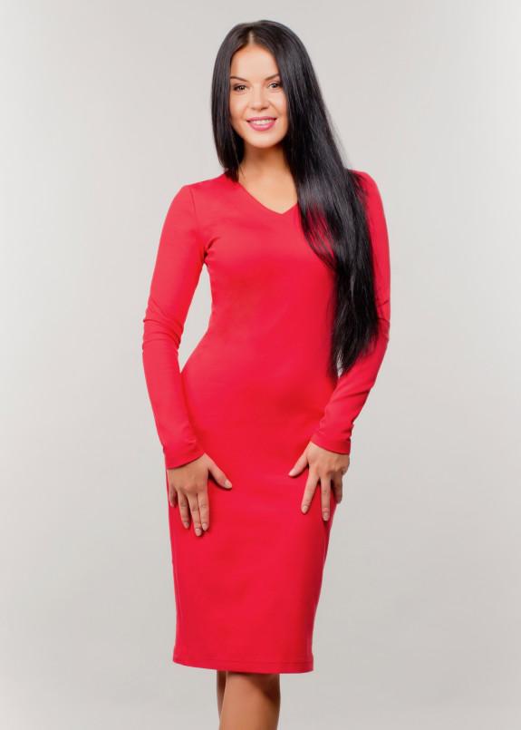 Изображение Платье красное Wolff
