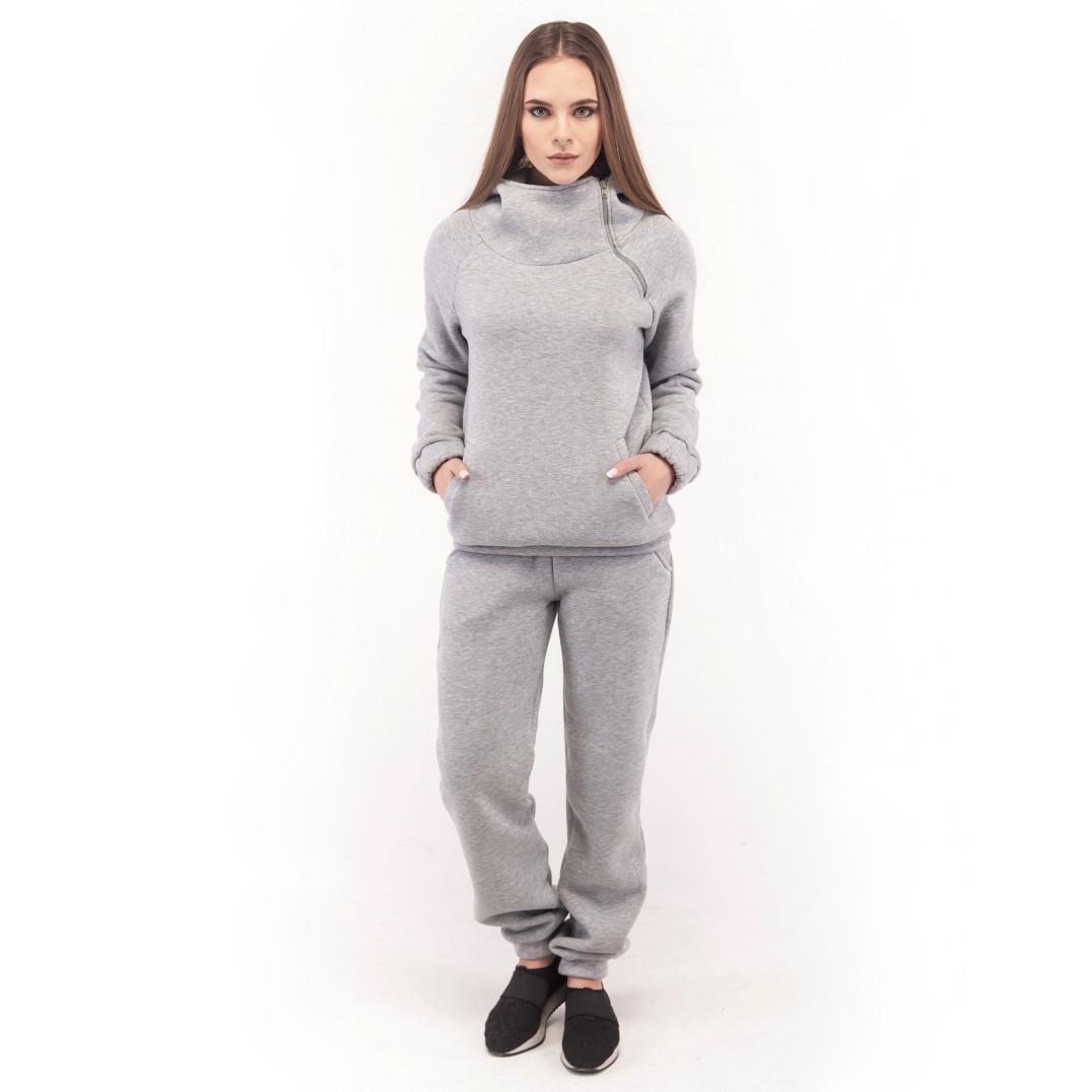 69ad2a096d3 Купить Спортивный костюм женский серый Wolff в Киеве