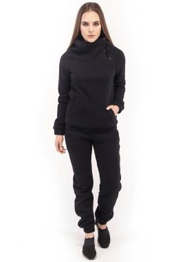Изображение Спортивный костюм женский черный Wolff