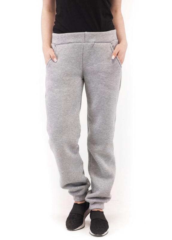 Изображение Спортивные штаны женские серые Wolff