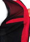 Изображение Ветровка мужская черная с красным MFStore