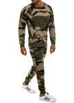 Изображение Спортивный костюм камуфляж зеленый MFStore