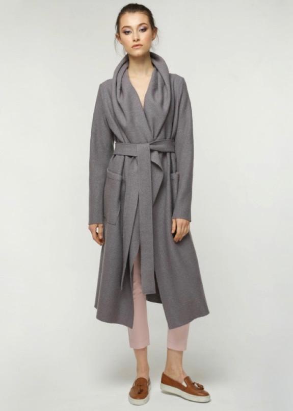 Изображение Пальто женское серое JESS GREY Marani