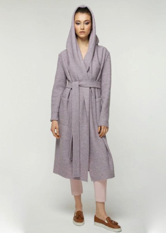 Изображение Пальто женское фиолетовое JESS VIOLET MELANGE Marani