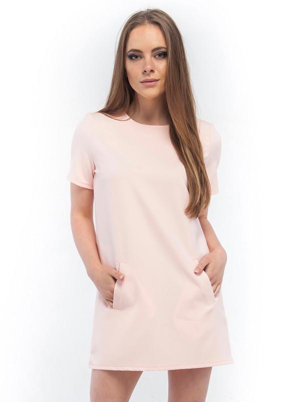 Изображение Платье мини светло-розовое Wolff