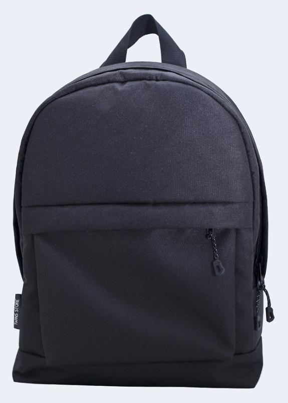 Изображение Рюкзак текстильный черный mini Twins Store