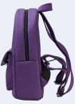 Изображение Рюкзак женский с накладным карманом фиолетовый Twins Store