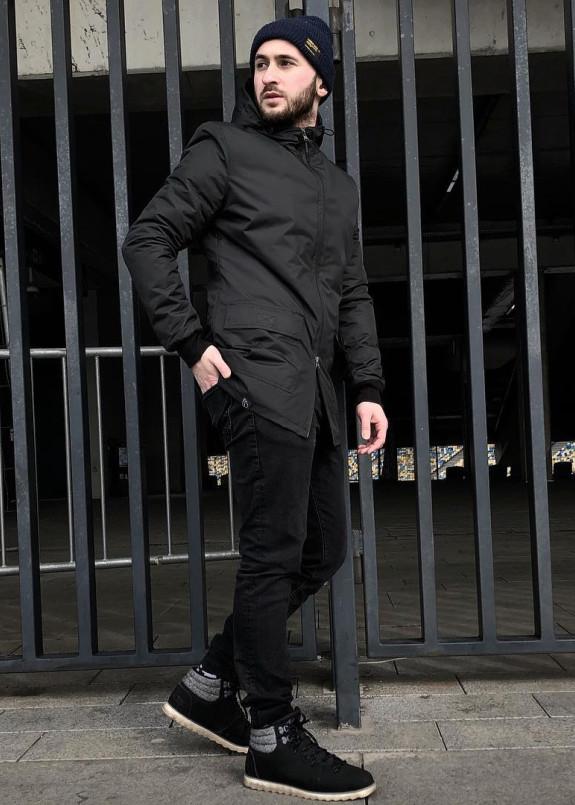 Изображение Куртка весенняя черная Sahar