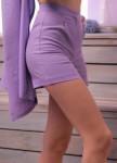 Изображение Шорты женские фиолетовые Leska Prod