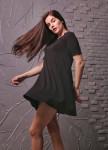 Изображение Платье-колокол черное Leska Prod