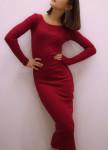 Изображение Платье бордовое Leska Prod