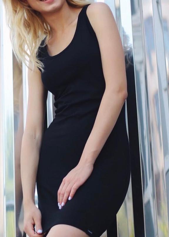 Изображение Платье мини черное Leska Prod