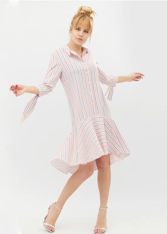 Изображение Платье-рубашка розовое Bloom BANG