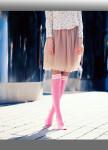 Изображение Гольфы женские розовые МОКОКО SОСКS