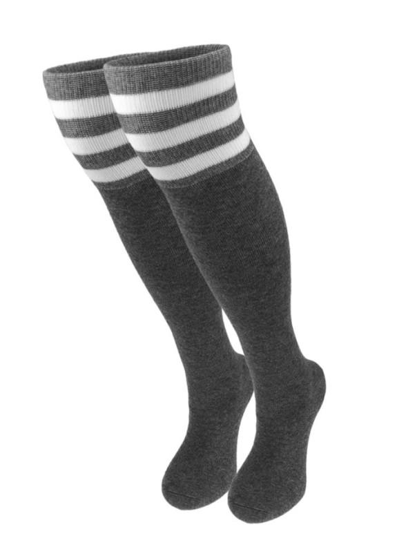 Изображение Гольфы женские темно-серые МОКОКО SОСКS
