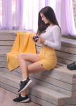 Изображение Шорты женские желтые Leska Prod