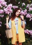 Изображение Жилет женский желтый Leska Prod