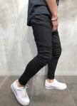 Изображение Джинсы мужские с косыми карманами черные MFStore