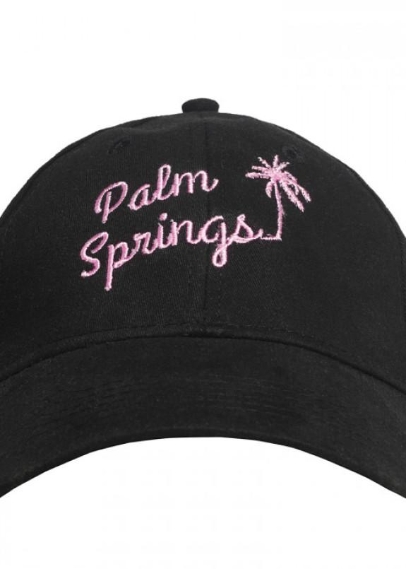 Изображение Бейсболка черная Palm Springs Fusion