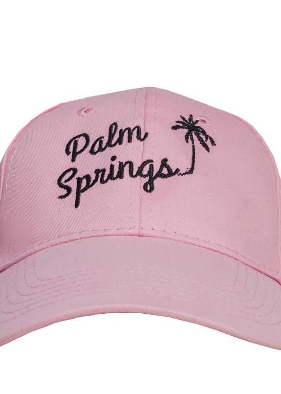 Изображение Бейсболка розовая Palm Springs Fusion