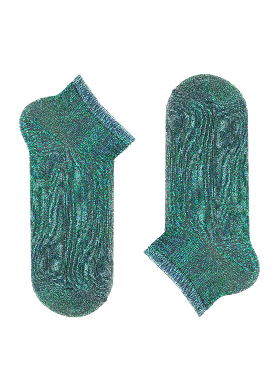 Изображение Носки короткие зеленые Хамелеон SOX