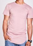 Изображение Футболка мужская розовая LONG SAHAR