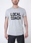 Изображение Футболка мужская серая Local Coach Seven Mountains