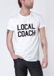Изображение Футболка мужская белая Local Coach Seven Mountains