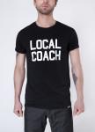 Изображение Футболка мужская черная Local Coach Seven Mountains