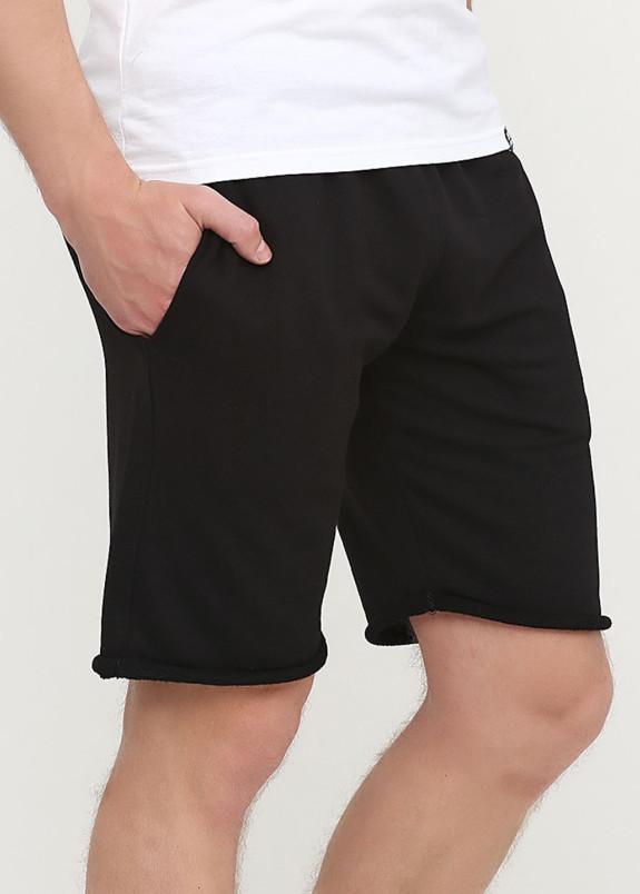 Изображение Шорты мужские черные Knit shorts Seven Mountains