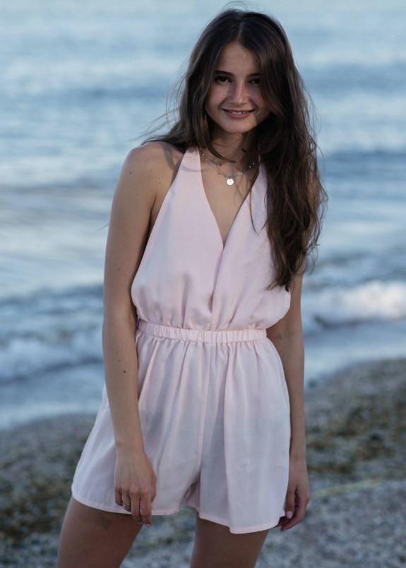 Изображение Комбинезон розовый Gridress