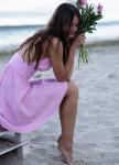 Изображение Сарафан розовый Gridress