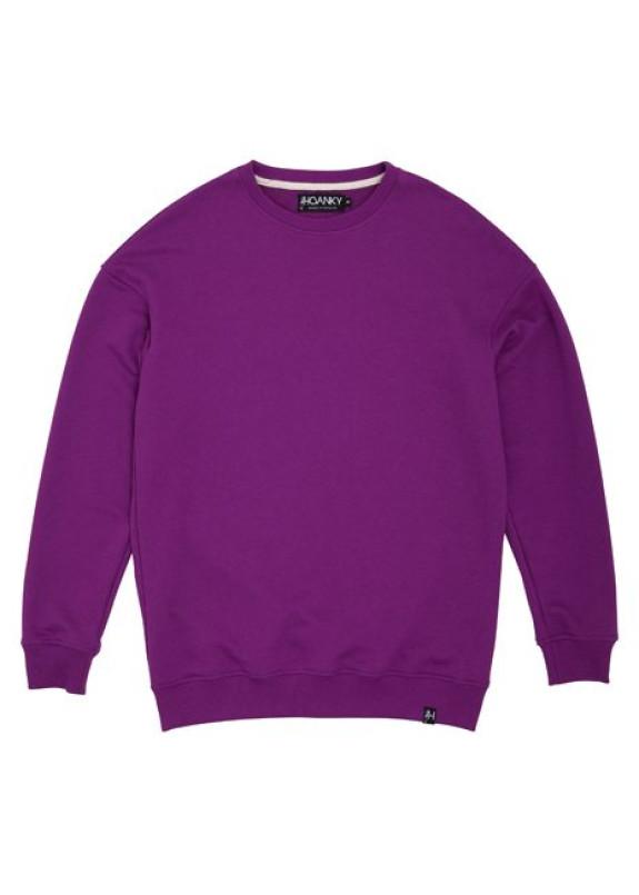 Изображение Свитшот мужской фиолетовый Basic Hovanky