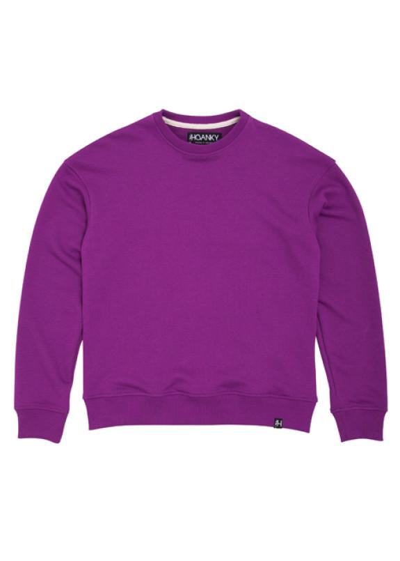 Изображение Свитшот женский фиолетовый Basic Hovanky