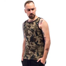Изображение Майка мужская двухцветная камуфляжная с черным ThePARA