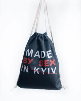 Изображение Рюкзак-мешок черный MADE Leska Prod