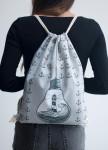 Изображение Рюкзак-мешок серый Маяк Leska Prod