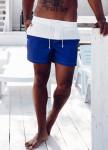 Изображение Плавки мужские бело-синие Black Limit