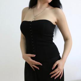 Изображение Корсет бандажный черный MARO