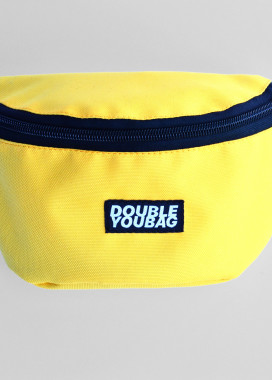 Изображение Бананка текстильная желтая doubleyoubag