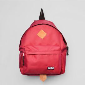 Изображение Рюкзак текстильный красный doubleyoubag