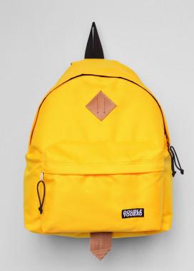 Изображение Рюкзак текстильный желтый doubleyoubag