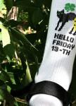 Изображение Носки длинные белые Hello Friday SOX