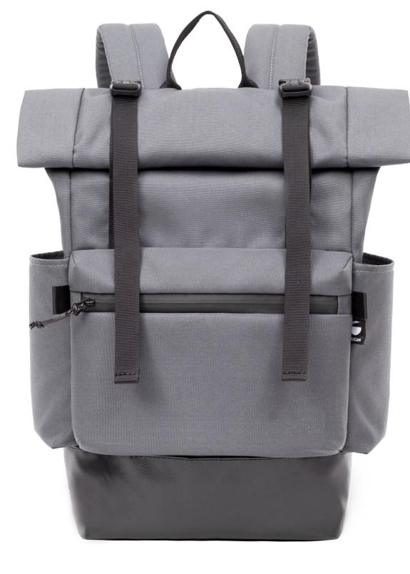 Изображение Рюкзак текстильный серый Phase Roll PELICAN