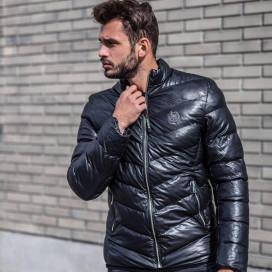 Стеганая утепленная куртка с диагональными стежками MFSTORE 9176a4a09fa5c