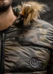 Изображение Куртка милитари с мехом на капюшоне