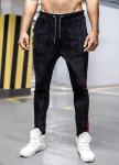 Изображение Чёрные штаны с красной полосой MFSTORE