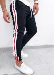 Изображение Спортивные штаны с красно-белыми лампасами
